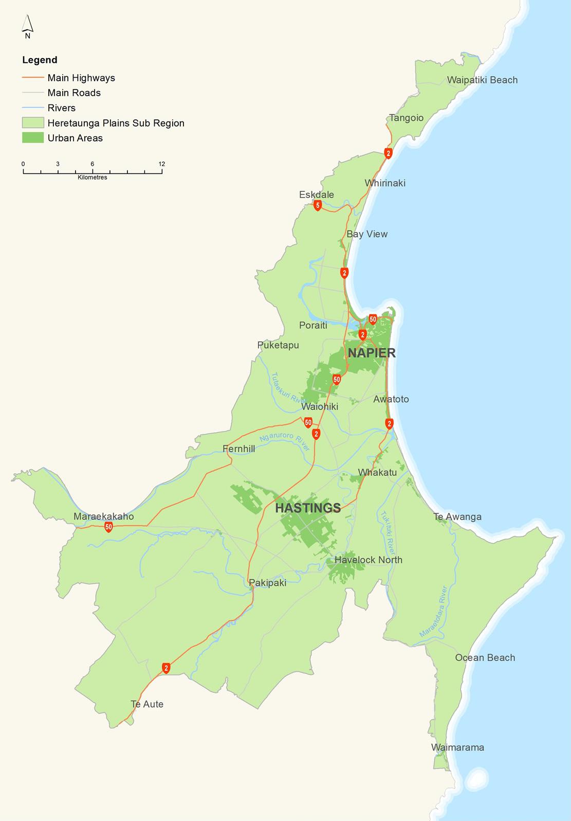 Hastings New Zealand Map.Maps Heretaunga Plains Urban Development Strategy